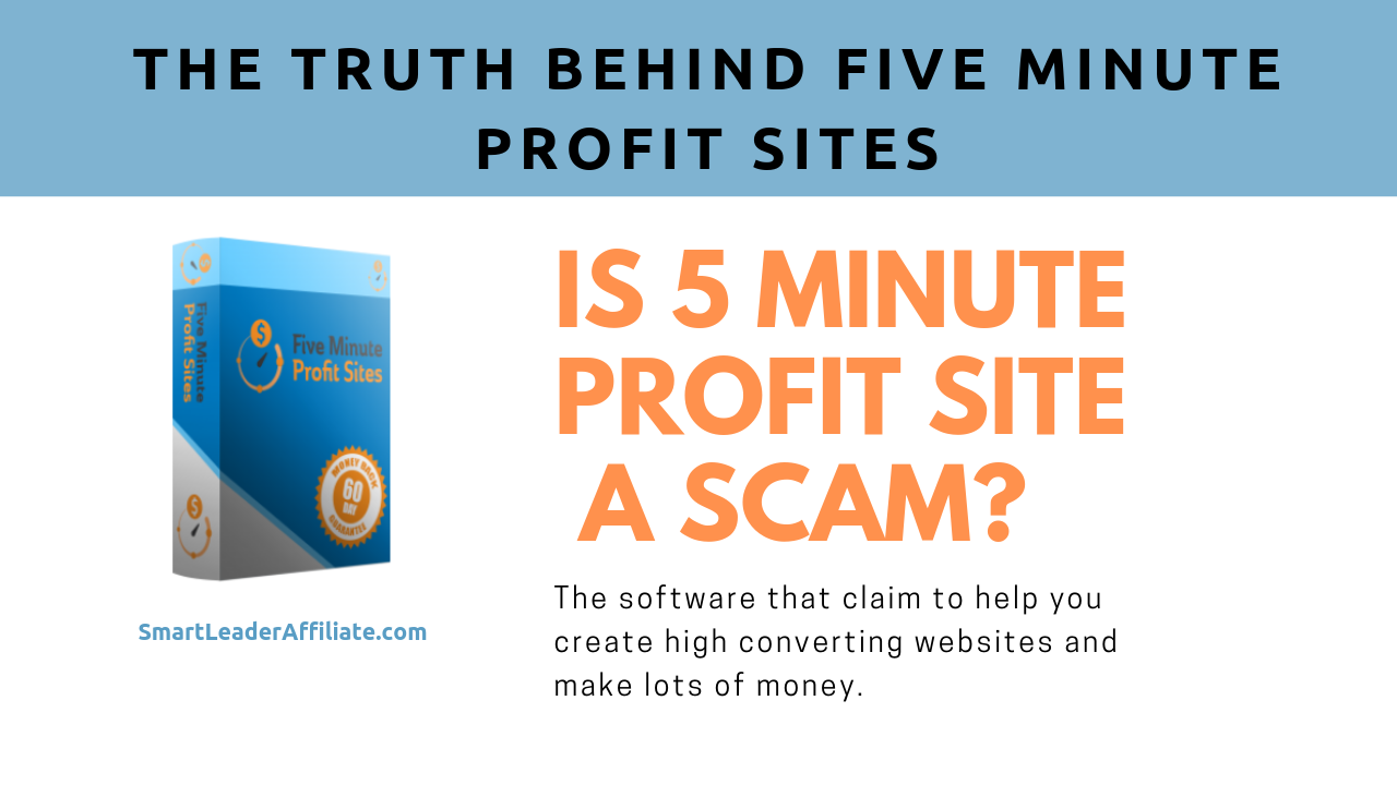 is the five minute profit sites a scam